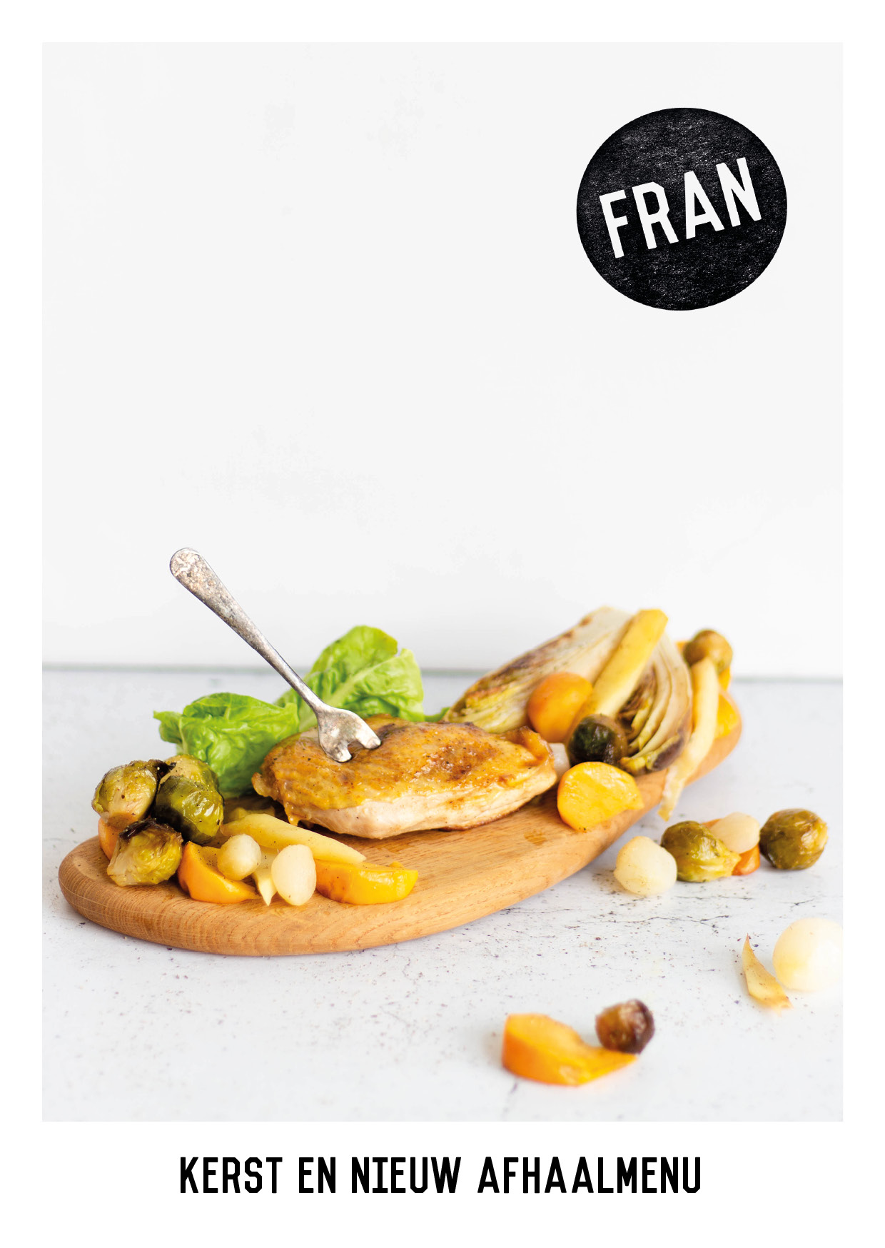 Flyers voor Fran Kookt