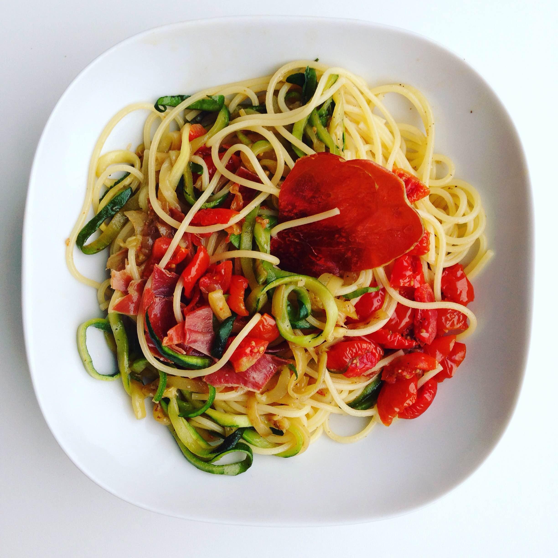 Spaghetti courgetti