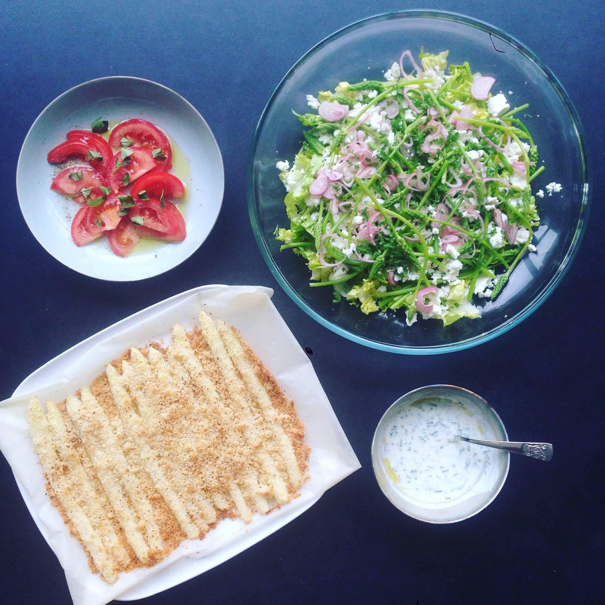 2 recepten met asperges